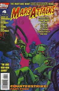 Mars Attack #4 Topps Comics January Jan 1996 (VFNM)
