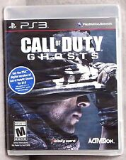 Call of Duty: Ghosts (Sony Play Ststion 3, 2013) Brand New Factory Sealed