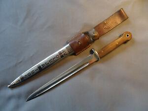 Messer HV Oluja 1995 Kroatien HOS Metall-Scheide Koppelschuh 40 cm