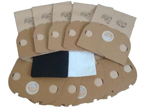 50 Sacchetto per aspirapolvere sacchetti per aspirapolvere adatto per Vorwerk Tiger 250 251 252