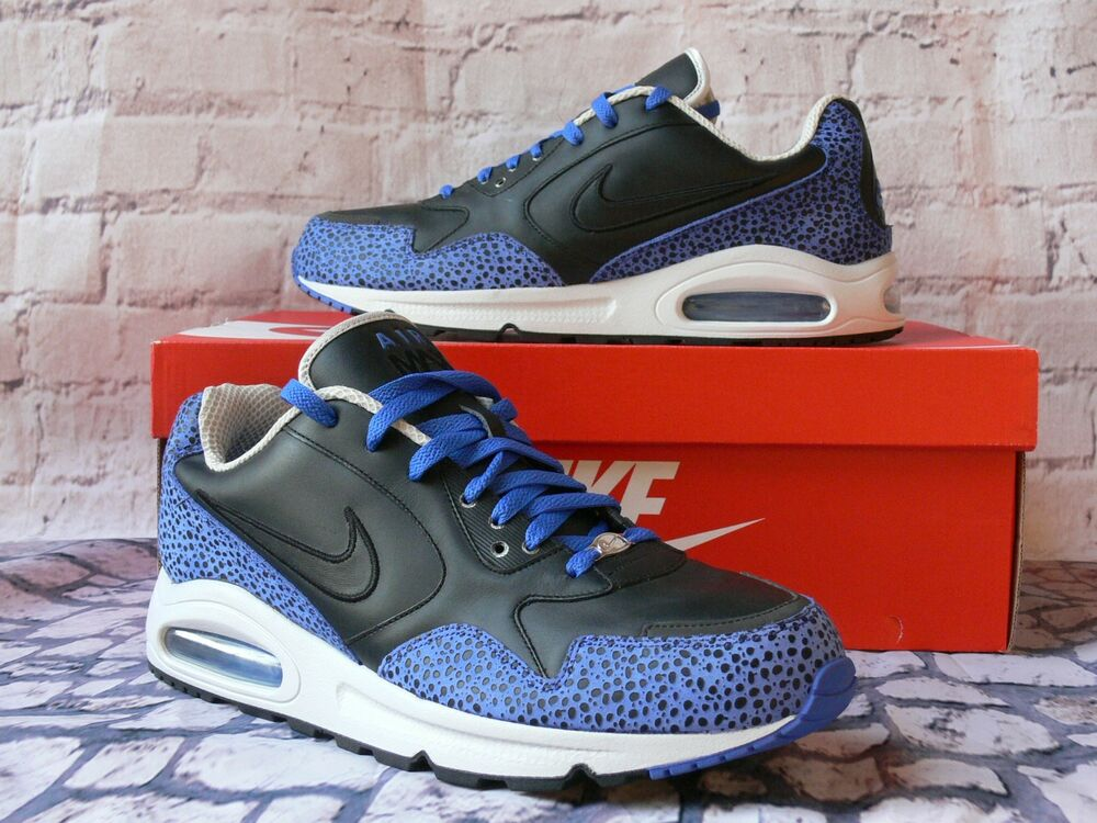 2007 Nike Air International Safari noir Royal homme US 11 / UK 10 EU 45 RARE