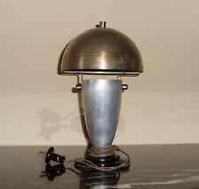 █► Art Deco Loft Lampe, Bauhaus Tischlampe Pilzlampe 30er Jahre Original!!!