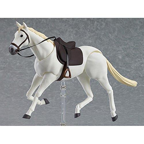 Max Fabrik Pferd (Weiß) Figma Actionfigur