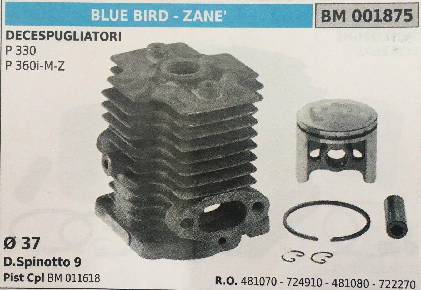 Cilindro Completo por Pistón y Segmentos Brumar BM001875 blå Bird - Zane '