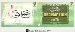 2009-10-Select-Cricket-Trading-Cards-Signature-Redemption-ES8-Shane-Watson