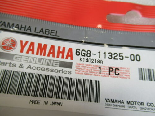 U18 Genuine Yamaha Marine 6G8-11325-00 Anode OEM New Factory Boat Parts