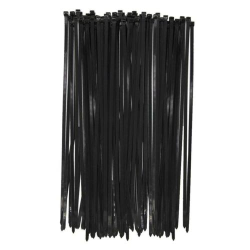 Long Wide 18 Inch Nylon Zip Cable Ties-Large 120LB Tensile Strength-Heavy Duty