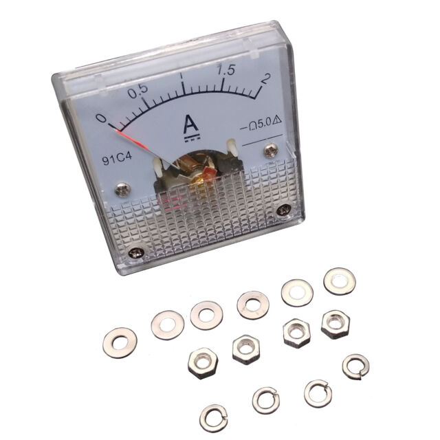 DC 0~10A Analog AMP Current Pointer Needle Panel Meter Ammeter 91C4
