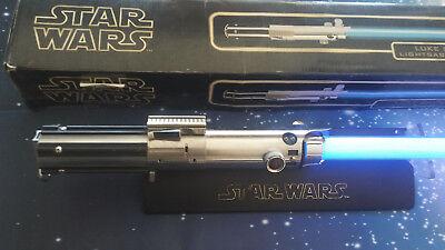 Star Wars Tm Master Replicas Luke Skywalker Lightsaber 2004 Ebay