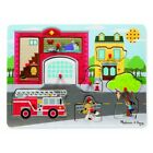 Melissa & Doug Around the Fire Station - Sound Puzzle