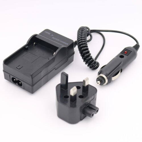 CAR//HOME Battery Charger for TOSHIBA Camileo H10 H20 S10 S30 AC//DC UK