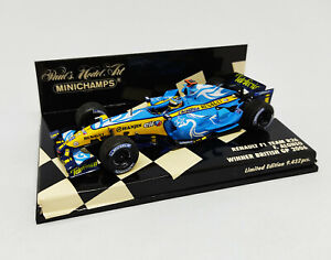 MINICHAMPS 1:43 - Renault F1 Team R26 F. Alonso Winner British GP 2006 400060101