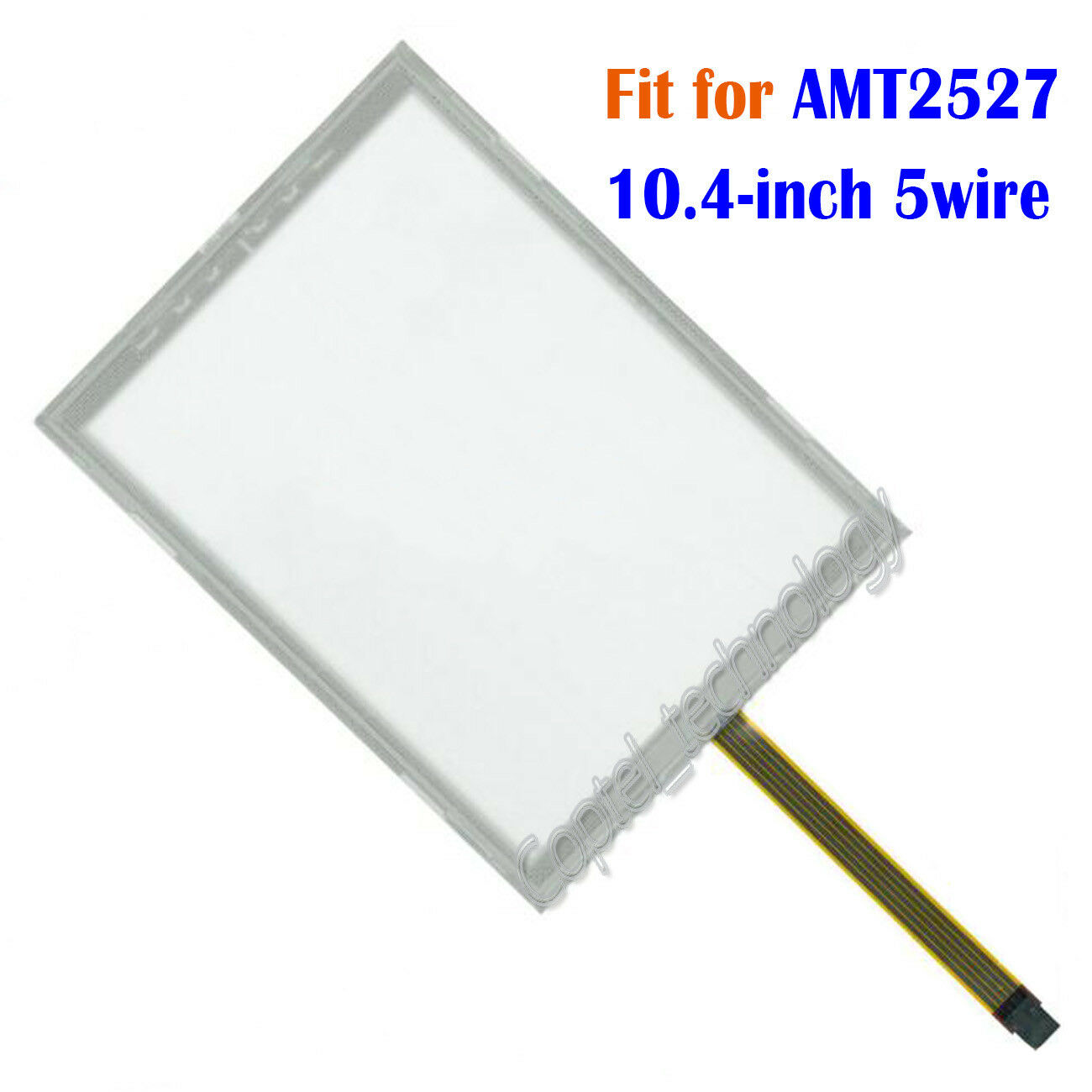 New 10.4-inch 5 wire Touch Screen Glass for AMT2527  AMT 2527  180 days Warranty