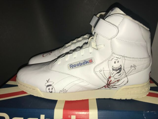 290fa04bb73 Reebok x Bait Stranger Things Ghostbusters Ex-O-Fit Clean Vintage Size 11
