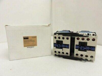 """IEC Reversing Contactor 3 Poles 18A 240VAC 240 Volt 4.04/"""" x 4.04/"""" x 3.43/"""" NEW"""