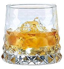 SET of 6 (11 oz) Whiskey Rocks Glasses 'Pineapple', Vintage Design Tumbler DOF