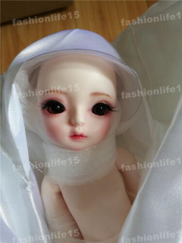 1/6 bjd doll VANILLA big eyes girl dolls free eyes with face make up resin toy
