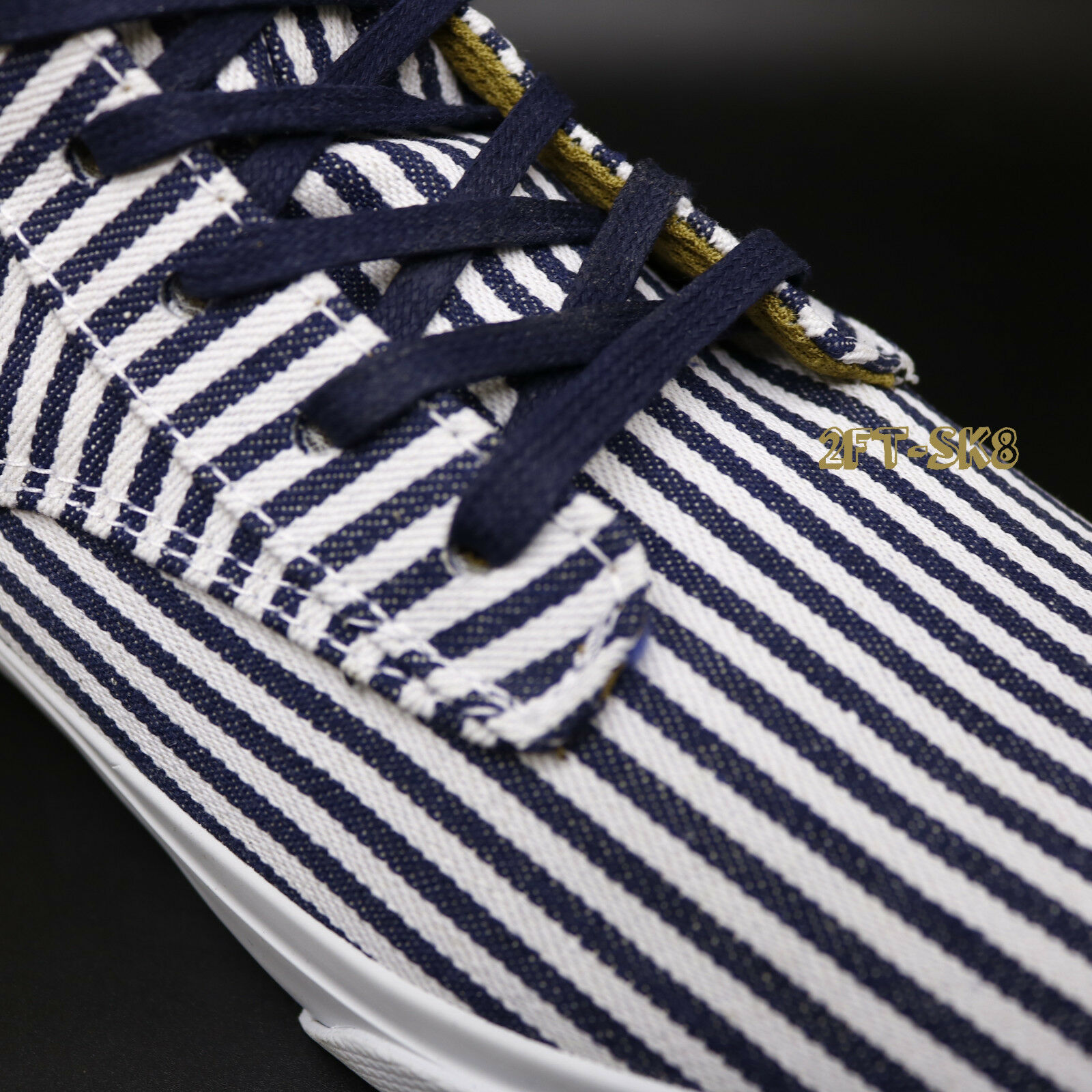 RADII FOOTWEAR TOP BASIC NAVY CREAM STRIPES HIGH TOP FOOTWEAR Schuhe/straight jacket 85181.195 c059fe