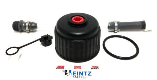 VP Racing Fuel Hose Vent Cap w// a Heintz Replacement Viton® O-Ring Jug Cap