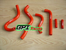 silicone radiator hose FOR Kawasaki KX250 KX 250 1999 2000 2001 2002 99 00 RED
