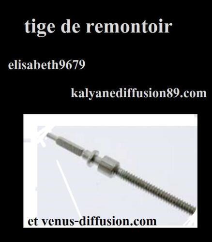 tige remontoir winding stem 401 ronda 1060 1062 1063 1064 1065 1066 1067 1069