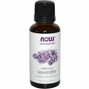 Now Foods 100% Pure LAVENDER Aromatherapy Essential Oil 1 oz Calm Soothe Balance