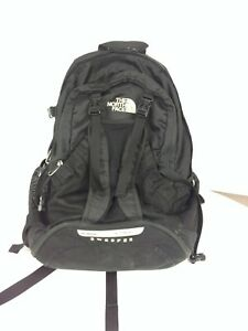9184e070ea1 Image is loading North-Face-Sweeper-backpack-black-daypack-Some-Marks-