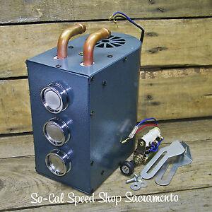 Compact Heater Under Dash Hot Rod Rat Street Custom
