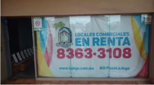 LOCAL COMERCIAL EN RENTA EN LA JOYA DE ANAHUAC L-222
