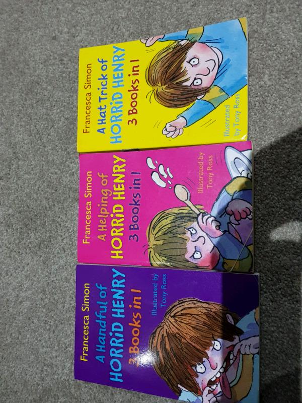 Children's books Horid Henry