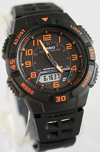 Active Casio Standard Tough Solar Aq-s800w-1bjf Mens Watch Big Clearance Sale Watches, Parts & Accessories Jewelry & Watches