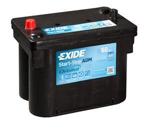 ek508 4 year warranty exide stop start agm battery 50ah 800cca ebay. Black Bedroom Furniture Sets. Home Design Ideas