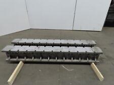 I Beam Machine Riser Block Cast Aluminum 10h X 7w X 72l Lot Of 2