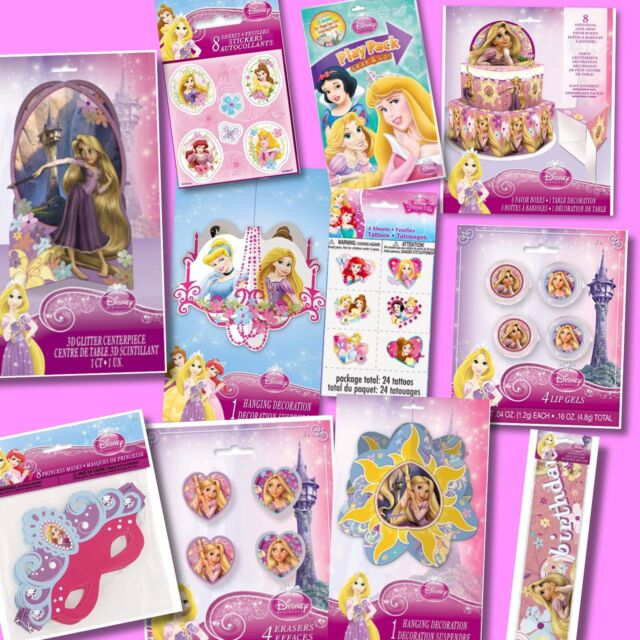 Ultimate Tangled Disney Princess Birthday Bundle Decorations Party Favors