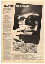 Richard Strange Interview NME Cutting 1981