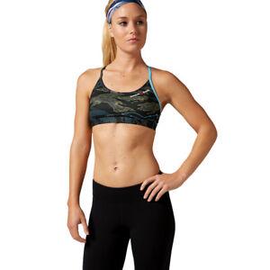 9fba9d04ef353 Reebok CrossFit Skinny Bra Women s Sports Training Top Yoga Fitness ...