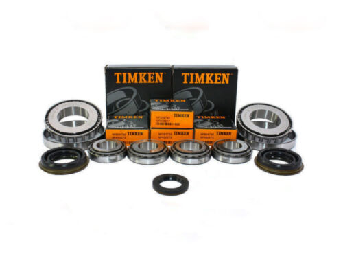 25mm input M32 M20 Gearbox Bearing Rebuild Kit TIMKEN 6 bearings 4 seals