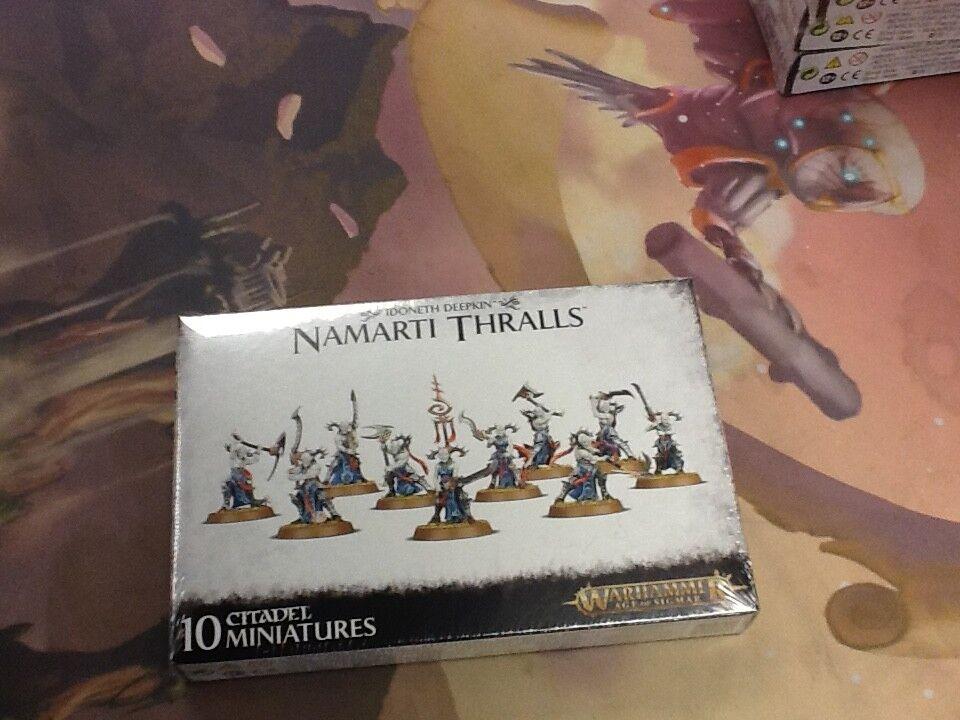AOS Warhammer Idoneth Deepkin Namarti Thralls Sealed
