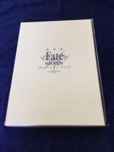 Fate stay night Heaven/'s Feel Theater sale Ltd luxury brochure File Flyer set
