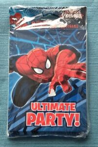 Marvel American Greetings Spider Man 8 Party Invitations Thank You