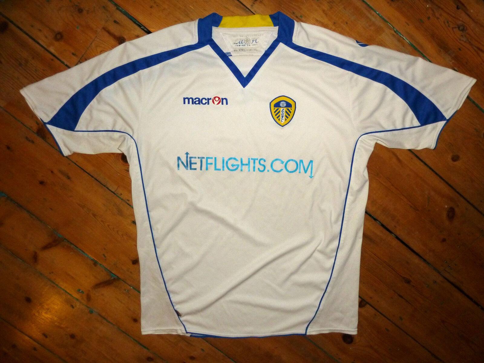LEEDS UNITED shirt + XL football shirt jersey trikot camiesta 2008 SEASON