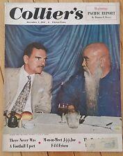 COLLIERS MAGAZINE DECEMBER 1 1951 JOE FRISCO FOOTBALL GOV DEWEY STANLEY WOODWARD