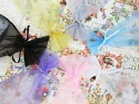 100 Pearl Bead Organza Gift Bags 4x6 Wedding Favors Pouch/party/7 Colors Po-2