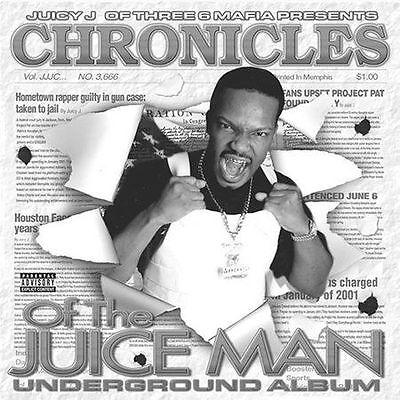 Juicy J : Chronicles of the Juice Man: Underground CD