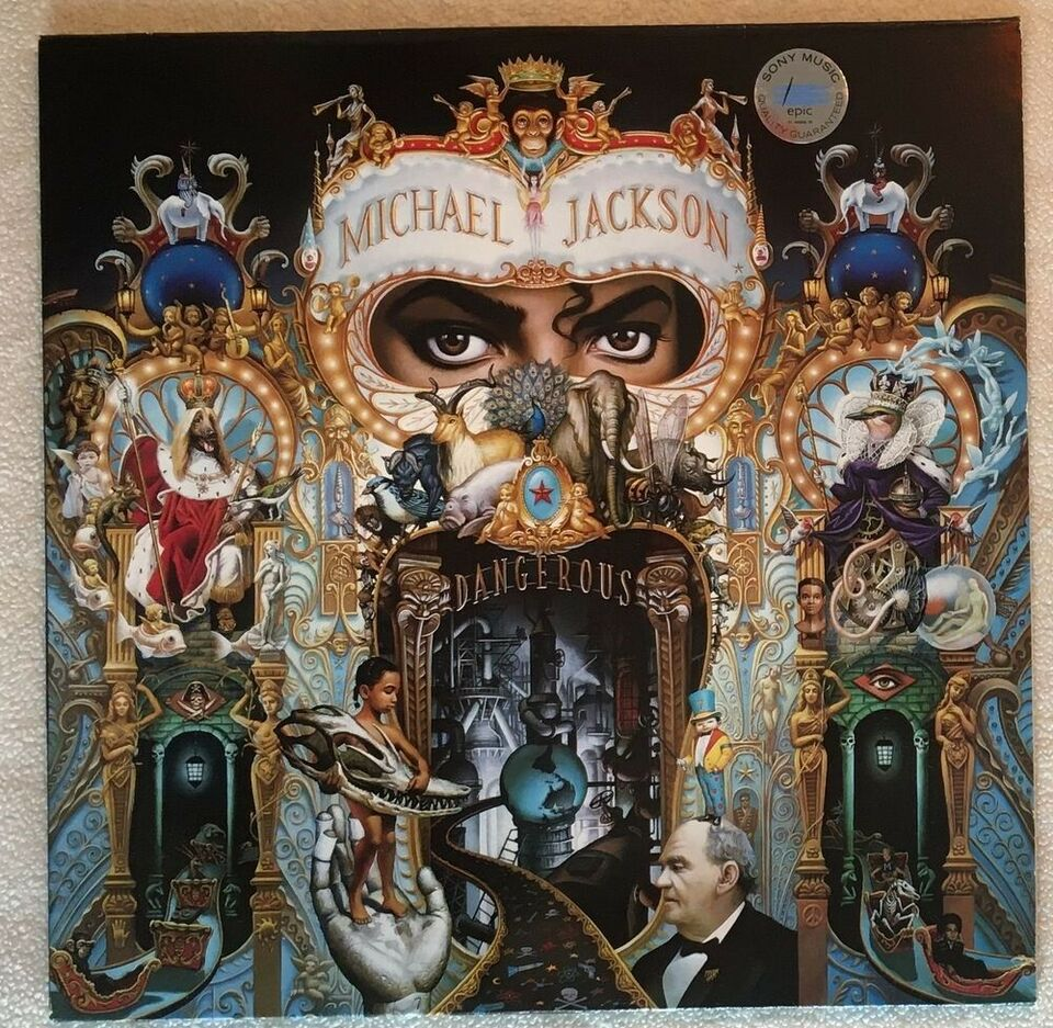 LP, Michael Jackson, Dangerous