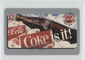 1995-1995-96-Score-Board-Sprint-Coca-Cola-Phone-Cards-Coke-is-it-2-Card-1u6