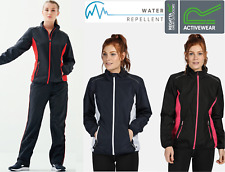 Regatta Womens Athens Tracksuit Top Zip Jacket Or Bottoms Reflective Gym Running