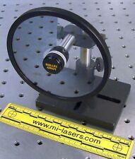 Melles Griot 03fdc003 Optical Variable Neutral Density Filter Amp Mount Laser