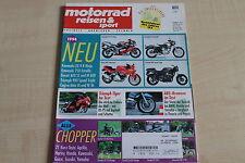 164796) Triumph Tiger im TEST - Motorrad Reisen Sport 11/1993