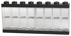 Lego Minifigure Display Case Large noir